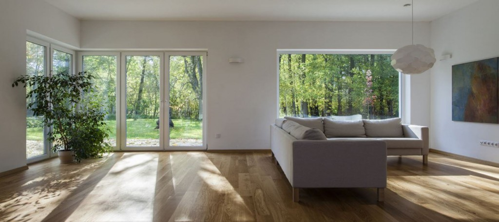 Architecture bois contemporaine pour maison en bois for Photo maison contemporaine interieur