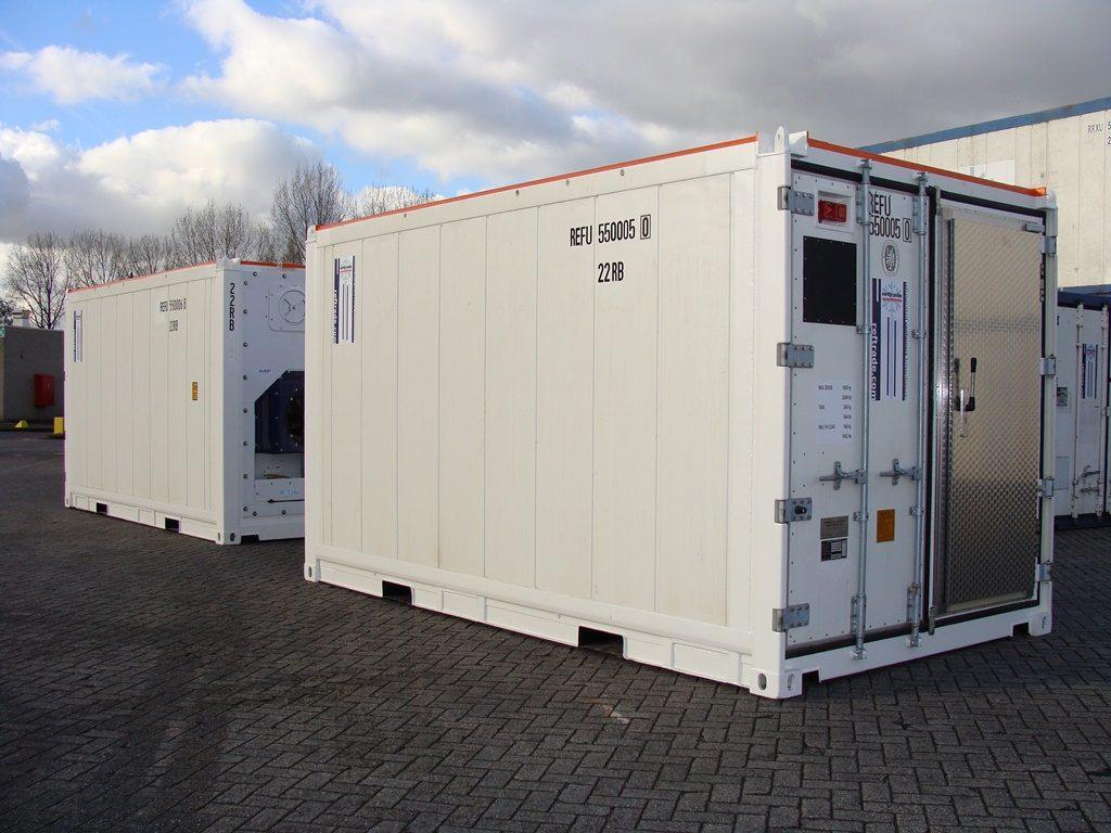Container réfrigéré, chambre froide blanche reftrade pour stockage à froid