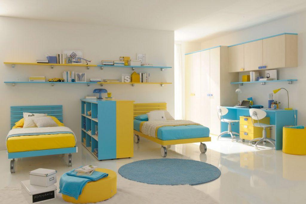 Avantages des lits jumeaux dans une chambre d\'enfants