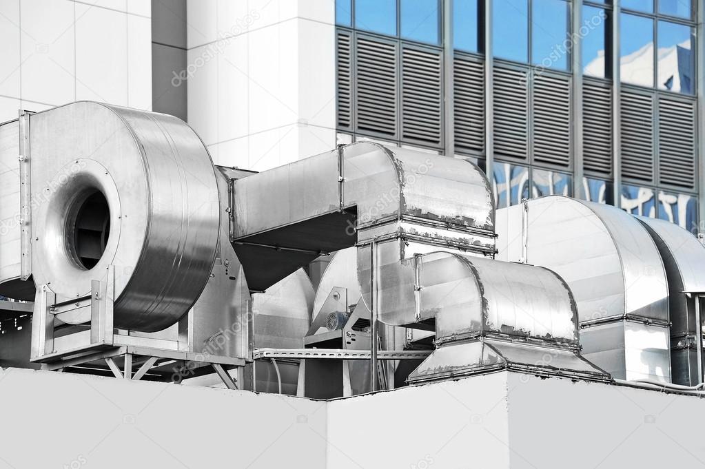 système ventilation aspiration industriel