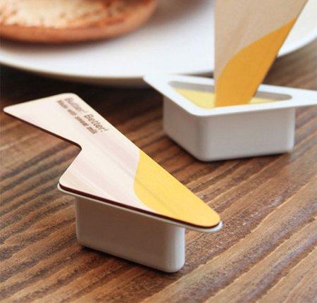 étiquette originale beurre à tartiner